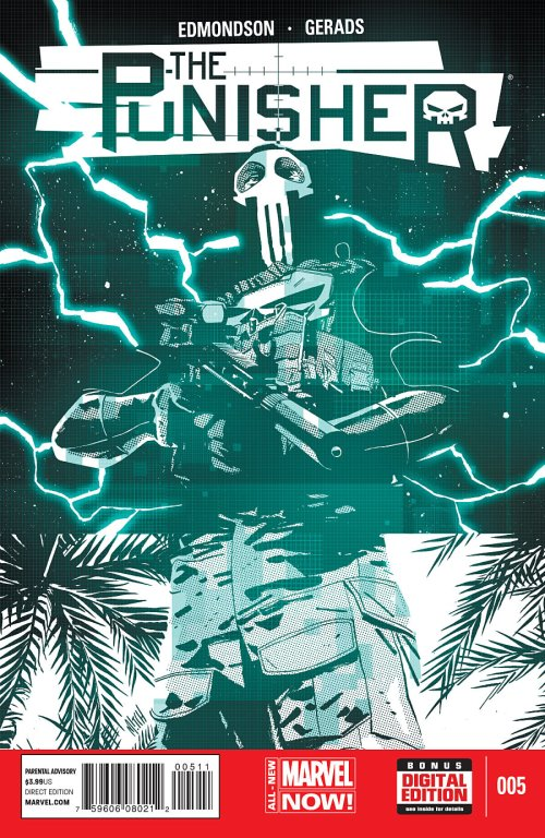 Punisher 5 cover